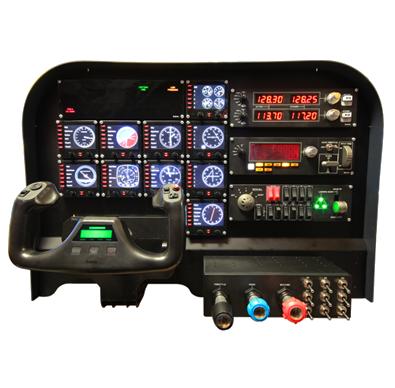 Flight Training Cockpit Saitek Compatible Realistic Cockpit
